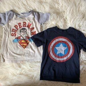Other - Super Hero Boys 3T T-shirt Bundle